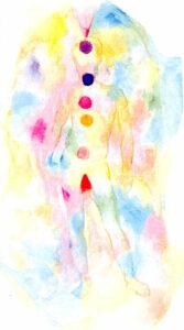 Energické body aury