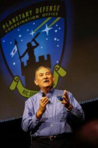 Lindley Johnson, důstojník planetární obrany NASA a výkonný ředitel Koordinačního úřadu pro planetární obranu. (Obrazový kredit: Lonnie Anderson / Sandia National Laboratories)