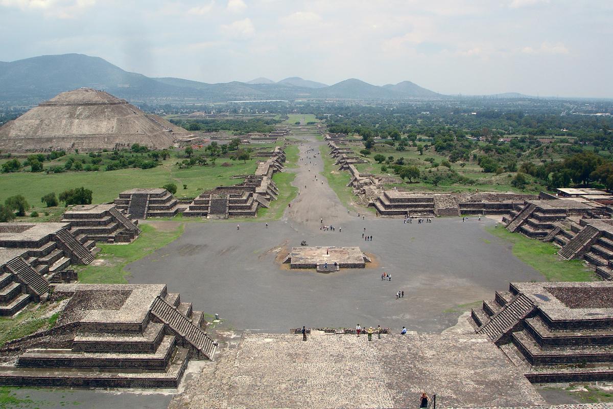 Teotihuacán cesta mrtvých
