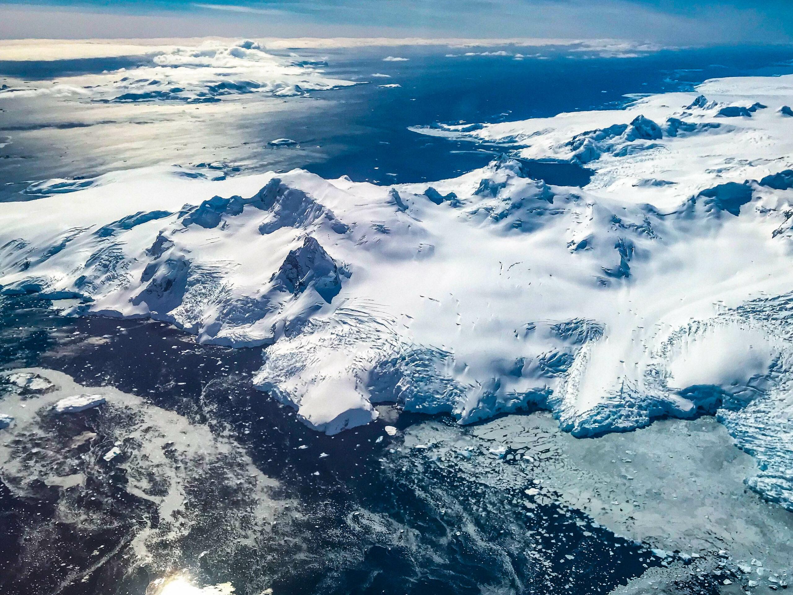 Antarktida ze shora 2017