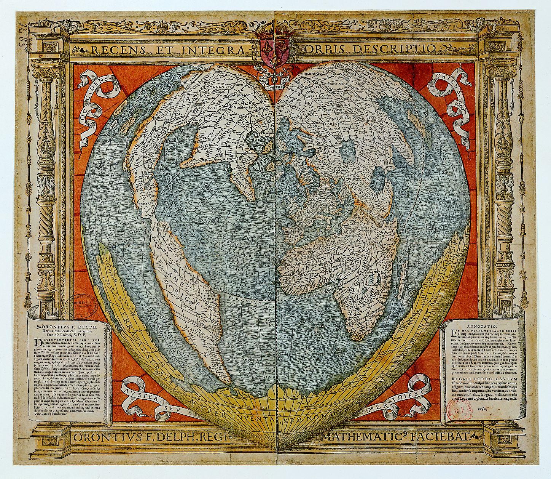 Mapa Oronce Finého