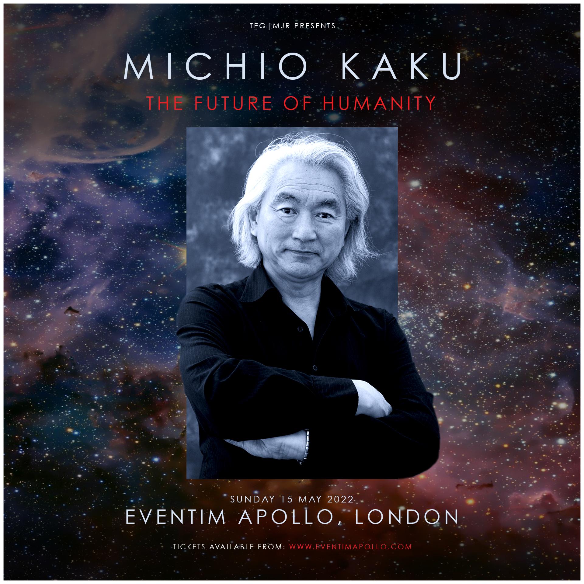 Nová kniha Michio Kaku
